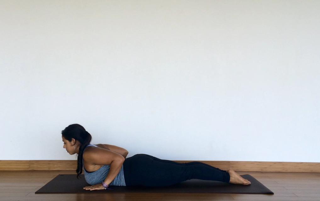 yoga tutorial: cobra pose
