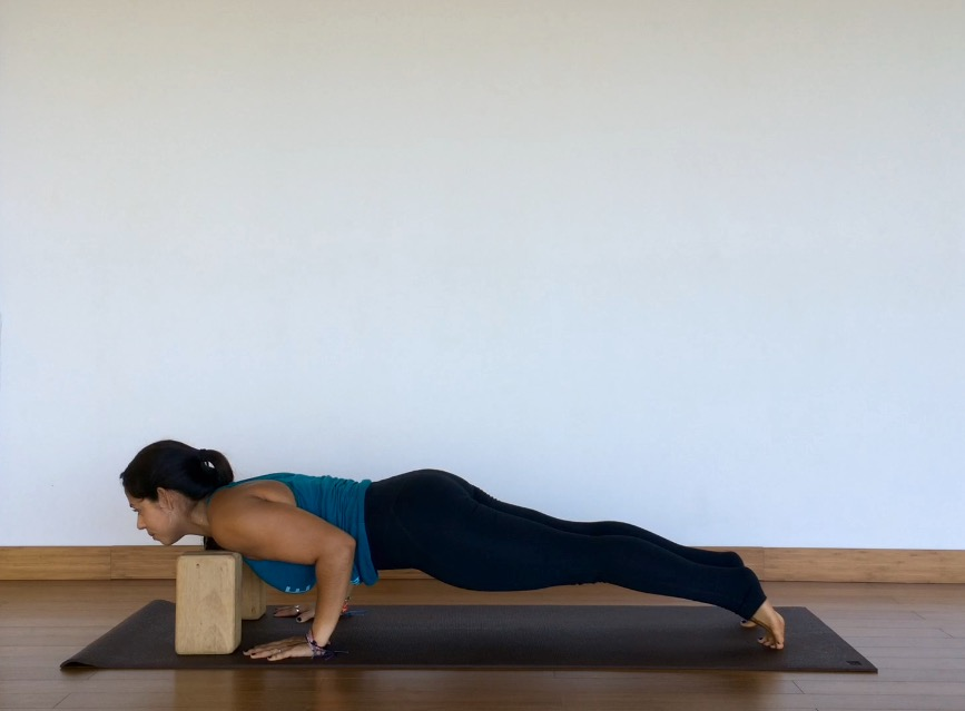 yoga tutorial: chaturanga dandasana