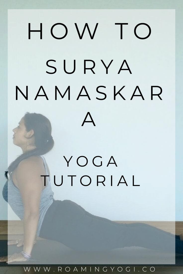 Surya Namaksar A Yoga Tutorial. Learn which poses go together to make up Surya Namaskar A, the classic sun salutation!