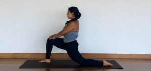 yoga tutorial: anjaneyasana