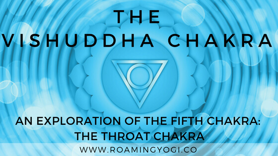 The Throat Chakra, or vishuddha chakra is the fifth chakra in the chakra system. Explore it's properties and practice a throat chakra vinyasa flow!