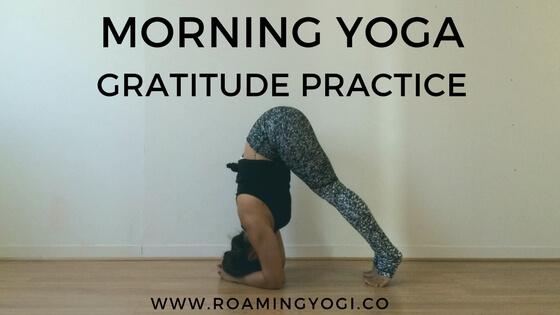 Morning Yoga: Gratitude Practice