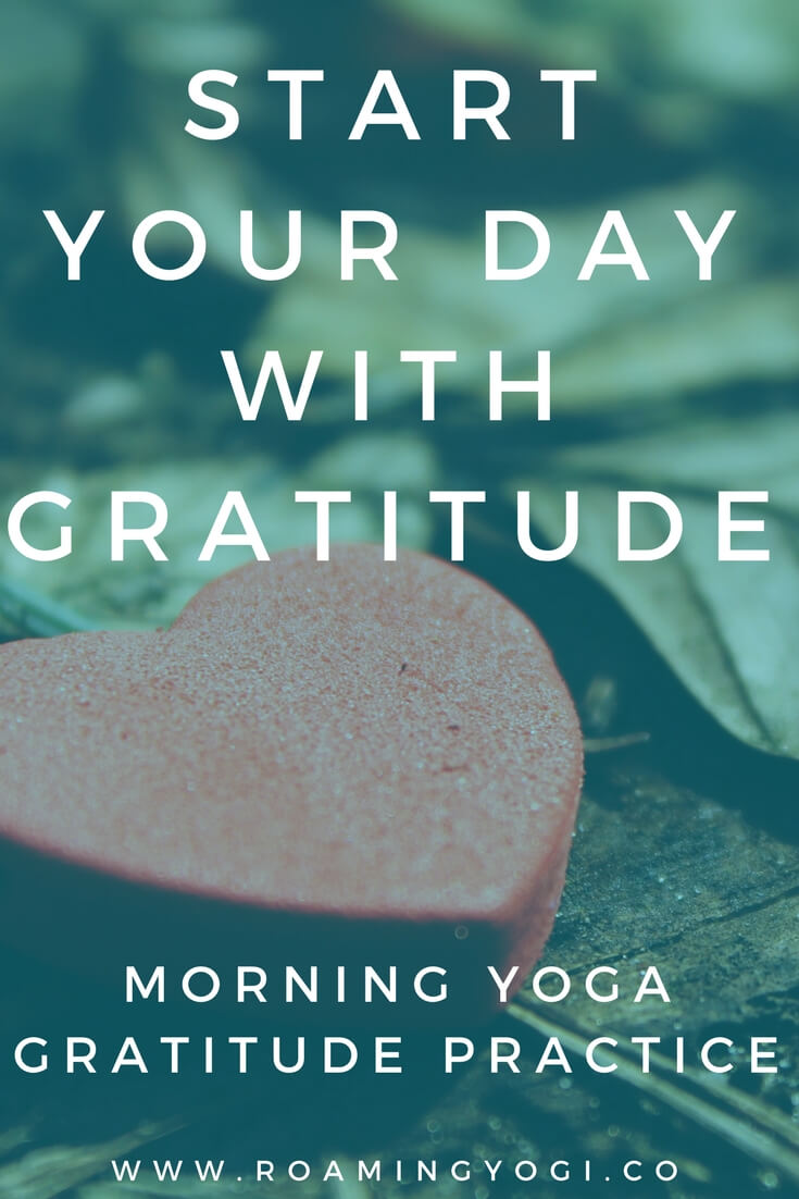 morning yoga gratitude practice