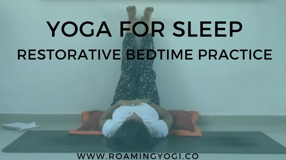restorative bedtime yoga