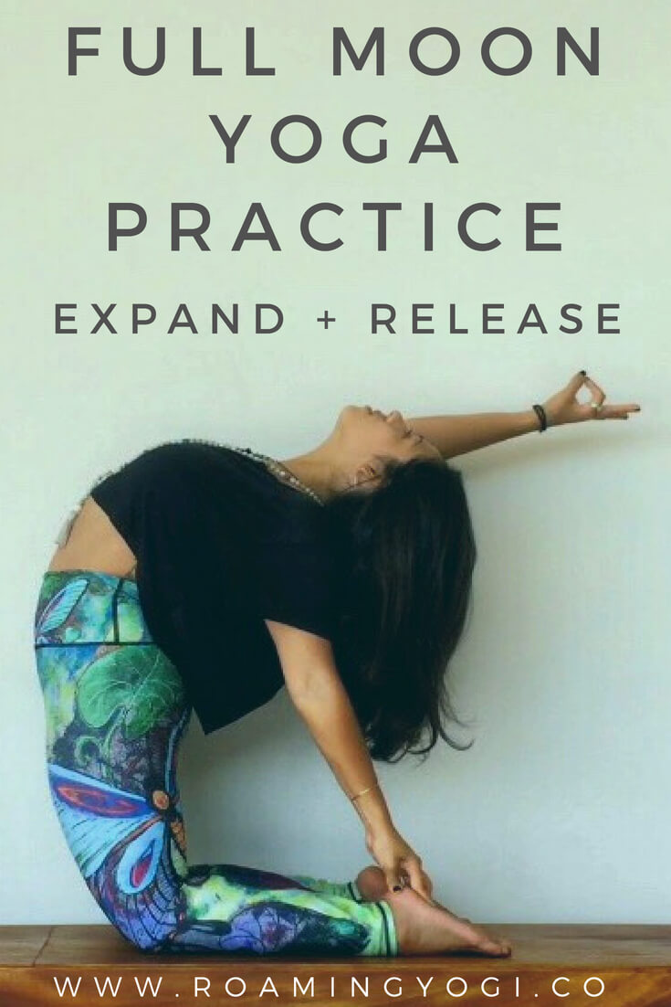 Full moon yoga practice: Strong vinyasa flow to expand + release!