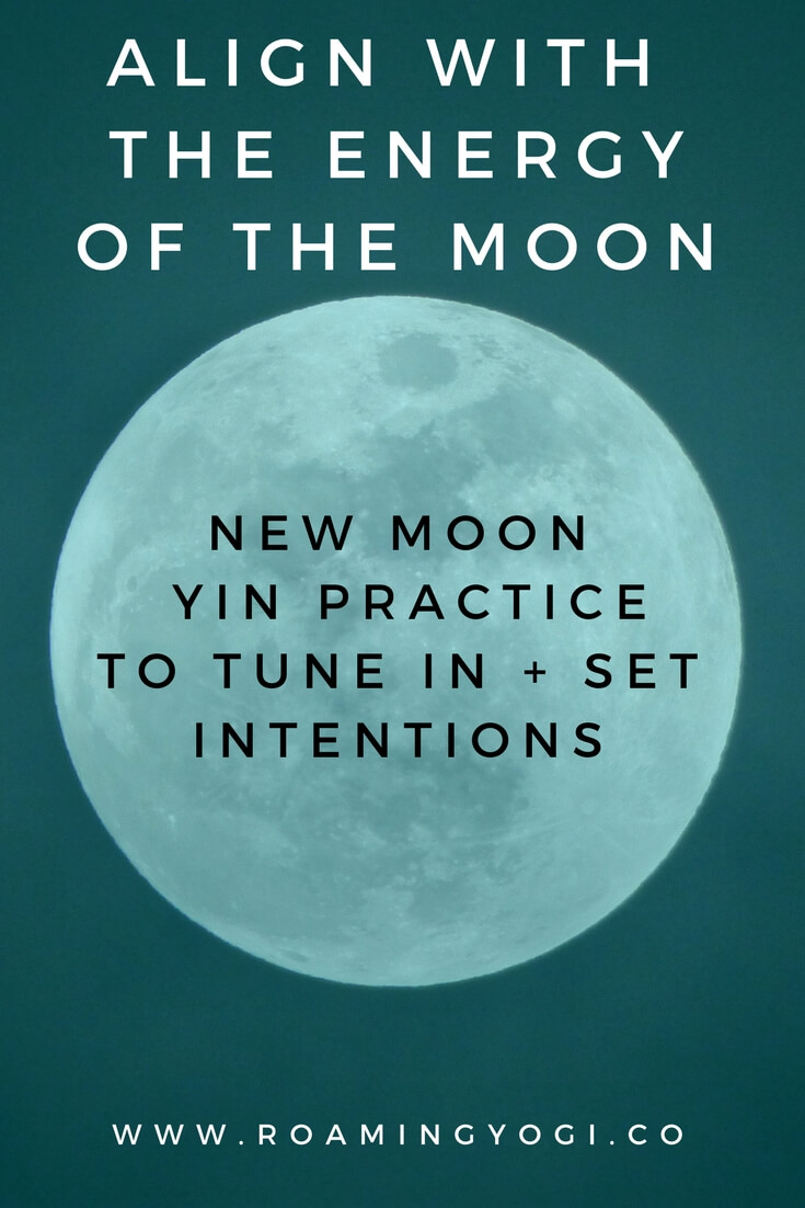 new moon yoga