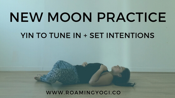 New Moon Practice: Tune In + Set Intentions