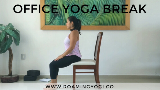 Office Yoga Break: 15 Minutes to Reset