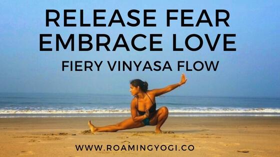 release fear + embrace love