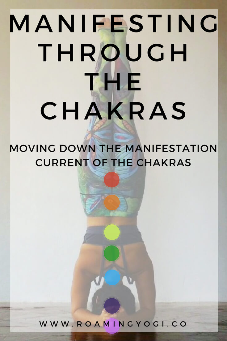 Explore how you can bring your visions to life by working with the chakras, moving down the manifestation current. Includes a manifesting through the chakras vinyasa class for you to try at home!