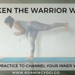 What are you a warrior for? Channel your inner warrior on the mat in this warrior flow, and awaken the warrior within! #yoga #warriorpose #innerwarrior #yogavideo #wellness #warriorflow #yogawarrior #freeyoga #vinyasa