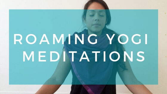 Tune in to the Roaming Yogi Guided Meditation Podcast! A podcast dedicated to bringing you guided meditations for your best life!