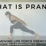 What is prana? Learn about the life force energy that is within and around us, and practice a vinyasa class to move that vital energy! #yoga #yogavideo #prana #moveprana #lifeforce #lifeforceenergy #vitalenergy #pranayama