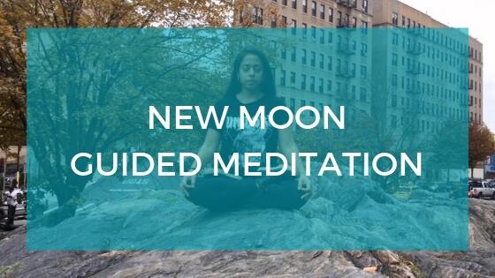 New Moon Meditation Title