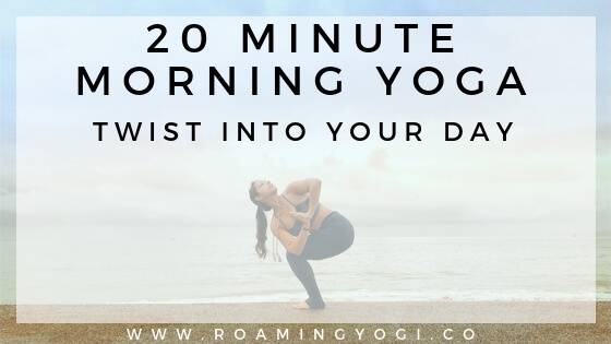 Morning Yoga Twists!