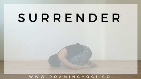 Restorative Yoga for Surrender